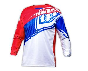 TLD bike racing downhill T-shirt mountain bike riding long-sleeved top motocross off-road breathable sportswear