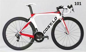 Costelo RB 1K BİR YOL BİSİKLET karbon çerçeve yol bisikleti çerçeve çatal kelepçe seatpost Karbon Yol bisiklet Çerçeve direkt fren monte