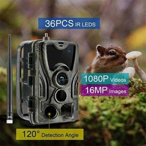 2G 3G 4G HC801 caça Trail Camera Thermal Imagers Noite Versão HD 1080p Infravermelho Vigilância Escoteiro Wildlife Camera wi-fi