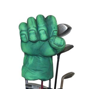 El campo de verde de la mano Club de Boxeo de la cubierta para el mando de la cabeza de madera de 460 cc Golf Club, Animal Cimera