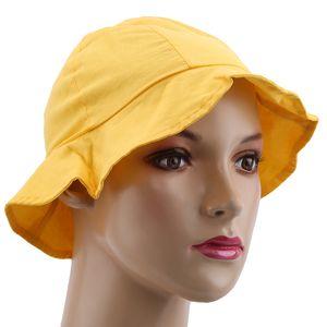 Korean Summer Style Children's Sun Hats Colorful Baby Girls Cotton Sun Bob Caps Bucket Hats Comfortable Anti-UV Fisherman