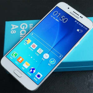 Téléphone cellulaire déverrouillé Octa Core Rom de Samsung Galaxy A8 A8000 déverrouillé 16 Go / 32 Go 16.0MP 5,7 pouces Dual Sim 4G LTE