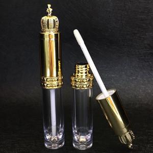 5PCS는 크라운 뚜껑 리필 DIY 속눈썹 성장 화장품 도구를 사용하여 빈 립글로스 튜브 투명 병 립 컨테이너를 8ml로
