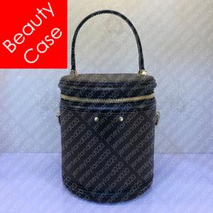 M43986 팝 인쇄 칸 핸드백 디자이너 여성의 아름다움 케이스 화장품 파우치 크로스 바디 지갑 럭셔리 어깨 가방 Pochette 액세서리 M55457