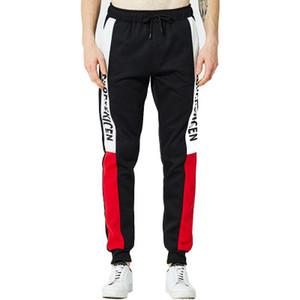Ins роскошных ватки технологии тренировка йога лосина спорт зал лосины люди мальчик MENS бегуны Sweatpants след брюки PANTALON Панталони брюки