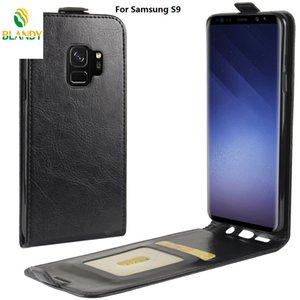 For Samsung note 9 S9 flip 64 grain Leather PU TPU cover case J6 J4 J7 A8 A7 A6 plus J2 core 2018 A9 star