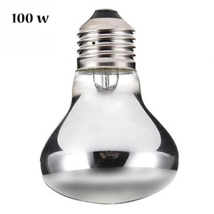 E27 Pet Heating Lamp Amphibian Amphibian Snake Lamp Heat Reptile Bulb Light 50W 100W Reptile Pet Heat Emitter Lamp Bulb