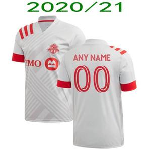2020 Toronto FC Jersey di calcio 2020/21 # 10 POZUELO OSORIO Lontano uniforme Mens # 17 Altidore MORROW BRADLEY Football Shirt