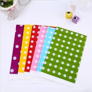 BXLYY Şeker renkli Polka Dot Tablecloth Tek Tablecloth Doğum Tek Mutfak Mutfak Malzemeleri, Yemek Bar Parti Uni Malzemeleri