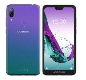 5.84 pulgadas de celular DOOGEE Y7 MTK6757 Octa Core 2.5GHz 6GB 64GB 16.0MP 5080mAh Android 8.1 Identificación de huellas dactilares Cara Unock 4G OTG