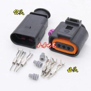 Livraison gratuite 100sets 3 way Pin femelle mâle auto VW Skoda Passat capteur Temp pressostat climatise Branchez