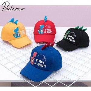 Pudcoco Аксессуары для младенцев Горячие Infant Kid Baby Boy девушка H Малыш Детского Бейсбол Hat Cap Summer Sun 3D Dinosaur Cap 2-8 год