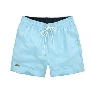 2019 broderie en crocodile Shorts de plage pour hommes Summer Beach Shorts Pants Maillots de bain de haute qualité Bermuda Male Letter Surf Life Men Swim
