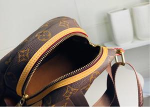 Hot classic designer backpack handbag top quality genuine leather fashion Double shoulder strap backpack shoulder bags schoolbag