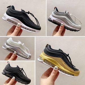Nike air max 97 Tasarımcı Ayakkabı Ayakkabı Boyutu 28-35 Running 2020 Yeni Ucuz Çocuk atletik Erkek Ve Kızlar Sneakers Çocuk Spor