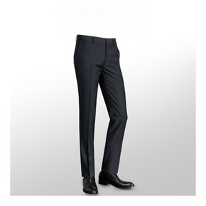 2019 Brand New High Quality Fashion Men's Zipper Wrinkle-resistant Suit Pants Formal Business Meeting Slim Fit Pants for Men