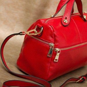 Designer-Boston europäische und amerikanische Art und Weise große Tasche 2019 neue Frauen-portable slung Umhängetasche mit großer Kapazität Handtasche