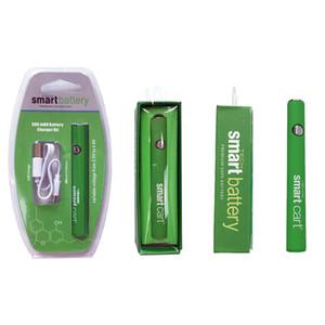 USB 충전기 SmartCart 510 두꺼운 기름 전자 CIGS와 전체 판매 스마트 카트 유기농 프리미엄 Vape 배터리 380mAh 예열 가변 전압 바닥