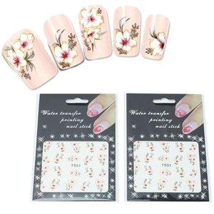 2 Листов Ногтей Наклейки Небольшой Свежий Стиль Nail Art Декоративные Наклейки Клейкая Наклейки Маникюр