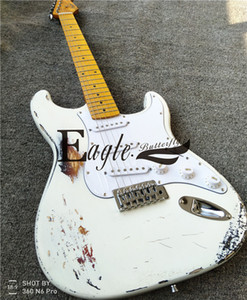 Eagle. Butterfly, Electric Guitar Electric Bass Custom Shop, Sunset Color Set White Light Electric Guitar Make Old in stock