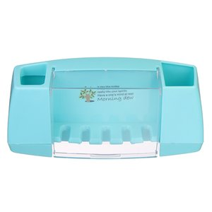 Titolare Xueqin spazzola da bagno accessori da bagno Spazzolino da denti Holder Stick Storage Box con ganci dente