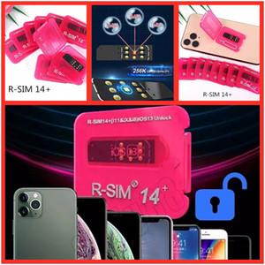 R-SIM + 14+ RSIM14 RSIM14 + r sim carte 14+ Unlock IOS 13 Mise à jour automatique pour iPhone Unlocking XS X 7 8 11 Unlocking Universal