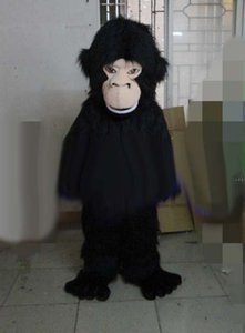 Halloween Gorilla Mascot Costume Cartoon chimpanzee Anime theme character Christmas Carnival Party Fancy Costumes Adult Outfit
