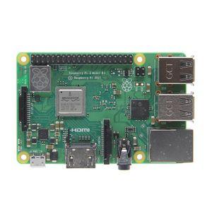 Freeshipping Raspberry Pi 3 Modelo B + (Plus) Placa base + Fuente de alimentación + Disipador de calor + Estuche / gabinete / Shell 4-en-1 Starter Kit B