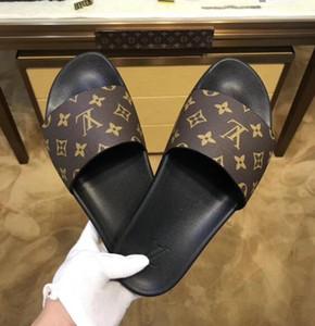 marca a caldo le donne Beach Uomini scorrere sandali Medusa Scuffs pantofole Mens bianca della spiaggia di modo dello slip-on progettisti i sandali US 7-12 con la scatola