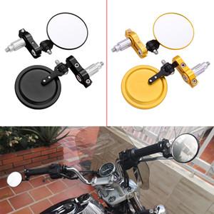 Универсальный Мотоцикл ручки Зеркало Алюминиевый Бар Конец зеркала заднего вида Аксессуары для Yamaha XP TMAX 530 TMAX 500 TX125 Приключения