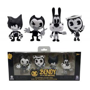 Bendy And The Ink Machine Figurenpaket (4 Figuren) Bendy And The Ink Machine Bendy Figure Y19062901