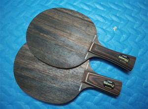 Wholesale-EBENHOLZ 7 table tennis blade pingpong racket / bat / base / paddle for table tennis rubber (FL) / short (CS) مقبض shakehand