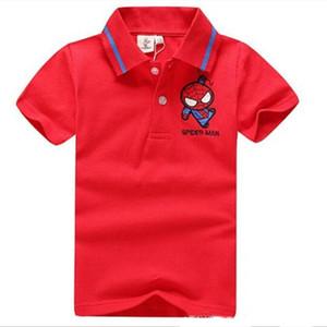 Free shipping luxury children's T-shirt fashion print shirt girl T-shirt tops baby cotton T-shirt short brand designer