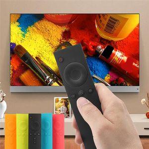 Silikontasche für Xiaomi Remote-Soft Anti-Rutsch-Gummi-Schutzabdeckungen Silikon-TPU Fernbedienung Abdeckungen Schutzhülle für das Mi Box