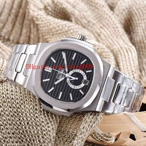 5 Style Luxury High Quality Watch 40.5mm Nautilus 5726A 5726 1A-010 Stainless Steel Transparent Mechanical Automatic Mens Man's Watches