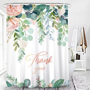 5pcs Shower Curtain Free Shipping Wholesale Curtains Thick Water Proof Envirenmental No Abnormal Odour Bathroom Use Curtains