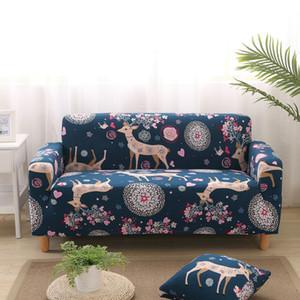Copridivano elastico antiscivolo floreale 1/2/3/4 posti copri divano per divano per soggiorno