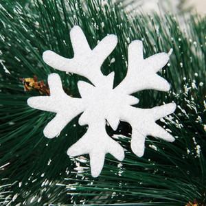 19 piezas de copos de nieve de espuma de Navidad Colgante Colgantes de ventana Copos de nieve de invierno blanco Pegatinas Decoraciones Hogar Habitación Tienda Decoración