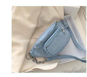 Shoulder Bag 2020 New Fashion Waist Bags Chest Messenger Bag Solid Color Wild Diagonal Bags