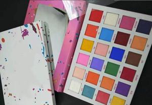 Envío libre de DHL! de cinco puntas de maquillaje paleta de sombra de ojos 24 colores de la gama de colores pentagrama de cinco puntas de la estrella paleta de sombra de ojos!