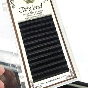Falso Pestañas Mink individual falsas pestañas postizas Pestañas Semi maquillaje de ojos Extensión L8-13mm Permanente Extensión de pestañas
