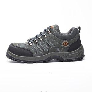 38-46 размер защитных ботинок анти-разбивая лодыжки safty стальной середины пластины Wilderness Survival safety shoes #ZS235