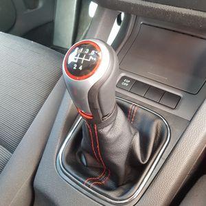 Di alta qualità Auto Manuale Pomello Del Cambio Leva Stick Pen 5 6 Velocità maniglia testa a sfera Per VW Volkswagen Golf 6 MK5 MK6