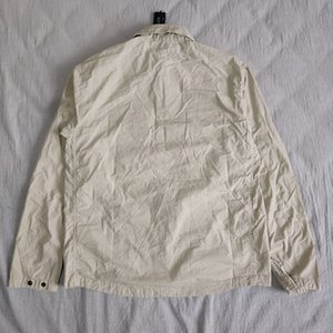 TOP 19SS 103F2 FANTASMA PIEZA Sobrecamisa el algodón de nylon TELA TOPST0NEY manera de la camisa mujeres de los hombres chaqueta de la capa HFLSCS045