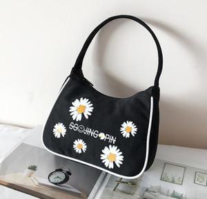 diseñador de lujo bolsos monederos mujeres bolsa axilar mini bolso de hombro del verano pequeños de la margarita Bolsas de playa del color del caramelo