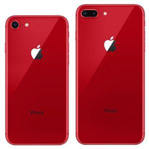 Rote Farbe Refurbished Original Apple iPhone 8/8 Plus Mit Fingerabdruck iOS A11 Hexa-Core 64/256 GB ROM 12MP Kamera 4G LTE intelligentes Telefon 10pcs