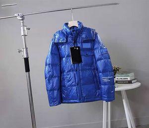 Erkek Parkas jackes Homme Kapşonlu Man Parkas Aşağı WINDBREAKER Kış Homme Sıcak ceketler Çiftler Lüks Fermuar Kalın ceketler 02