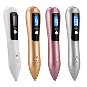 9 Level LCD Laser Plasma Pen Tattoo Mole Removal Machine Skin Care Wart Tag Removal Facial Freckle Dark Spot Remover Tool