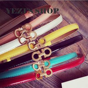 enfants ceintures de marque bonbons couleur ceintures filles ceintures de femmes en cuir Pu concepteur ceinture femmes accessoires A8268