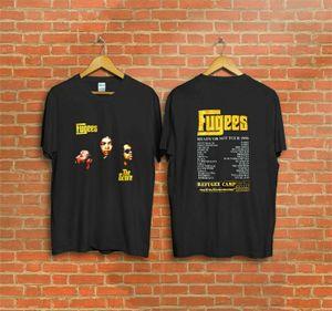 Vintage 1996 Fugees The Score Ready or Not Concert Tour футболка репринт 2018 летняя мужская брендовая одежда O-образным вырезом футболка V200327